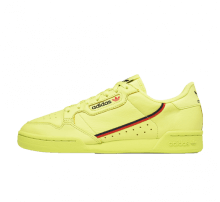Adidas Continental 80 Semi Frozen Yellow/Scarlet