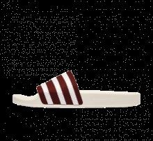 Adidas Adilette Footwear White/Core Burgundy