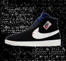 Nike Women's Blazer Mid Rebel Black/Summit White-Deep Royal Blue