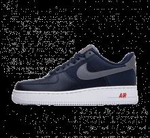 Nike Air Force 1 '07 LV8 Obsidian/Cool Grey-Team Orange