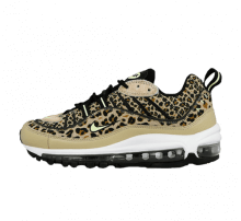 Nike Womens Air Max 98 Desert Ore/Volt Glow-Wheat