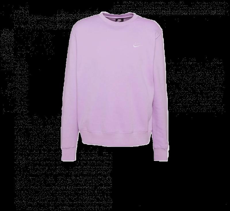 Nike NSW Club Crewneck Violet Star/White