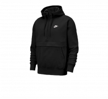 Nike NSW 1/2-Zip Hoodie Black/White
