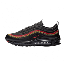 Nike Womens Air Max 97 Black/University Red-Print