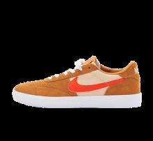 Nike SB Heritage Vulc Flax/College Orange-Oatmeal-White