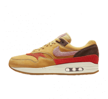 Nike Air Max 1 Wheat Gold/Rust Pink-Baroque Brown