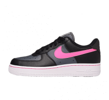 Nike Women's Air Force 1 Lo Black/Pink Blast-Dark Grey