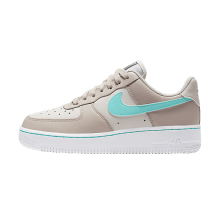 Nike Women's Air Force 1 Lo Desert Sand/Aurora Green-Phantom