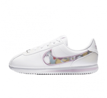 Nike Cortez Basic SL SE GS White/IT Arctic Pink-Metallic Silver