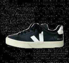 Veja Campo Chromefree Leather Black/White