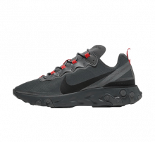 Nike React Element 55 Dark Grey/Black