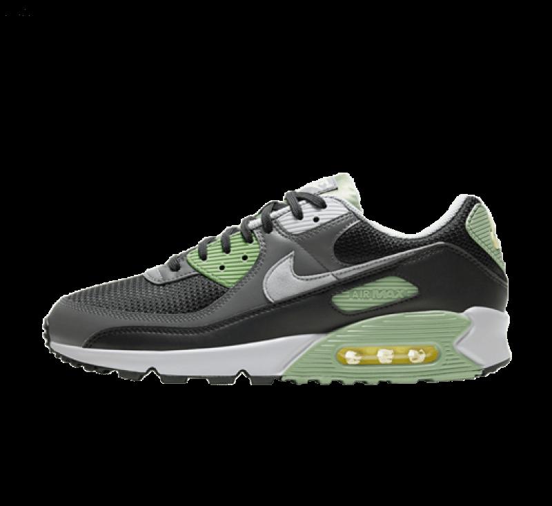Nike Air Max 90 Oil Green/Light Smoke Grey-Black-Iron Grey