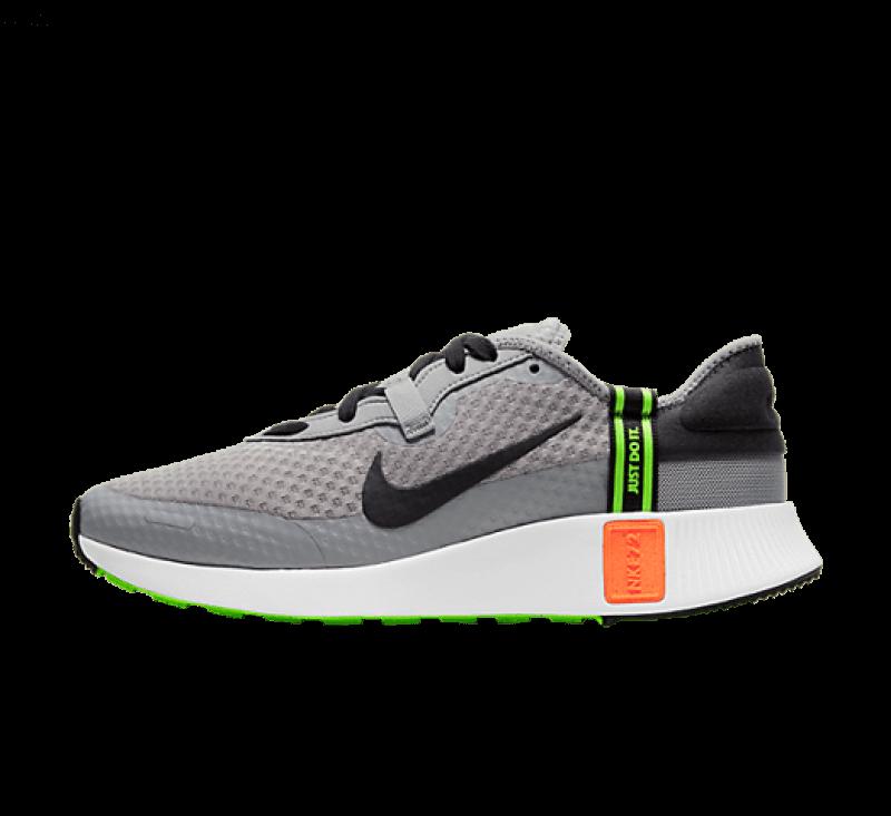 Nike Reposto Particle Grey/Hyper Crimson-Electric Green-Black