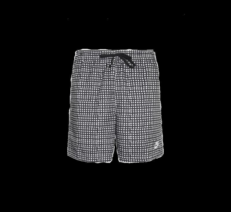 Nike NSW Woven Flow Grid Short Black/White
