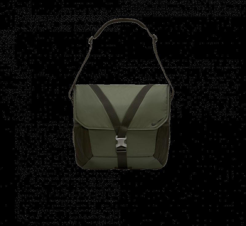 Nike NSW Essentials Messenger Sequoia/Oil Green-Black