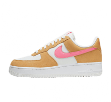 Nike Women's Air Force 1 '07 Twine/Electro Orange-Sail-White