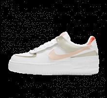 Nike Women's Air Force 1 Shadow White/Crimson Tint-Bright Mango