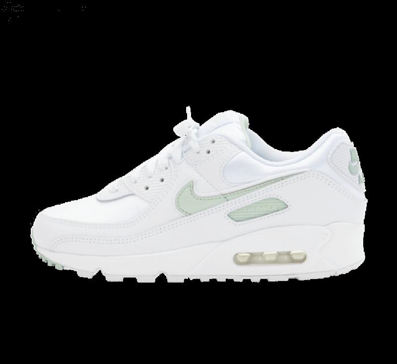 Nike Women's Air Max 90 White/Pistachio Frost
