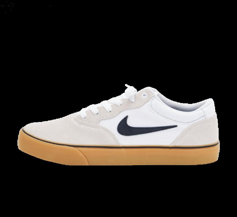 Nike SB Chron 2 White/Obsidian-Gum Light Brown