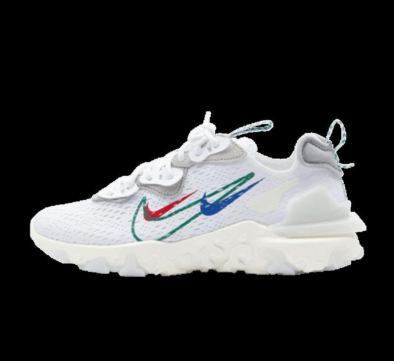 Nike React Vision White/Green Noise-Sail-Pure Platinum