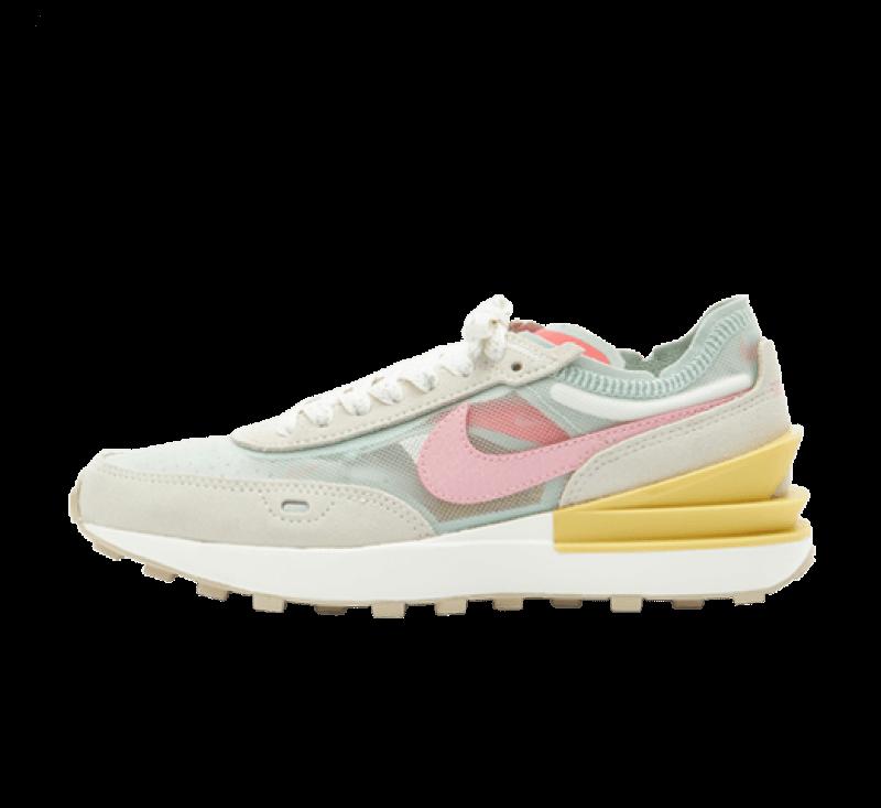 Nike Women's Waffle One Seafoam / Pink - Sea Glass