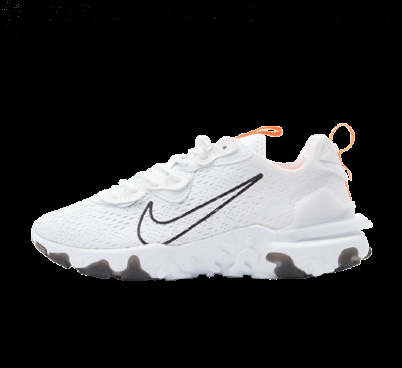 Nike React Vision White / Black - Total Orange