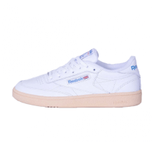 Reebok Women's Club C 85 White/Athletic Blue/Red