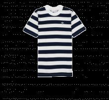 Adidas Stripe Tee Indigo/White