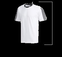 Adidas Trefoil Rib Tee White/Black