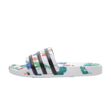 Adidas Women's Adilette Flower Footwear White/Core Black