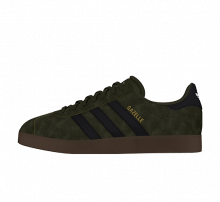 Adidas Gazelle Night Cargo/Core Black-Gum5