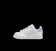 Adidas Stan Smith EL Infant Cloud White/Core Black-Iridescent