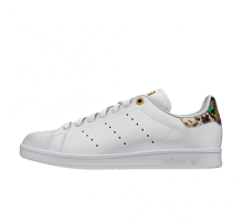 Adidas Women's Stan Smith Footwear White/Scarlet/Metallic Gold