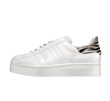 Adidas Women's Superstar Bold Animal White Tint/Off White-Core Black