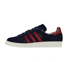 Adidas Campus 80s Collegiate Navy/Collegiate Burgundy-Off White