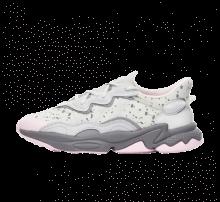 Adidas Women's Ozweego Grey One/Grey Two-Clear Pink