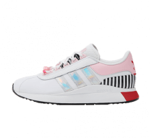 Adidas Women's SL Andridge Footwear White/True Pink-Vivid Red