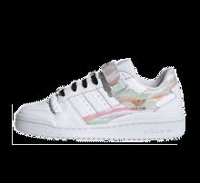 Adidas Women's Forum Low Footwear White/Frozen Green