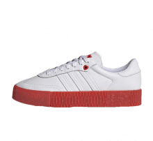 Adidas Women's Sambarose Valentine's Day Footwear White/Scarlet Red-Core Black