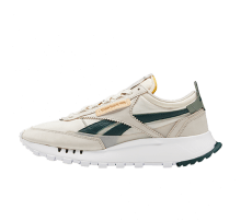 Reebok CL Legacy Sand Stone/Forest Green-Harmony Green