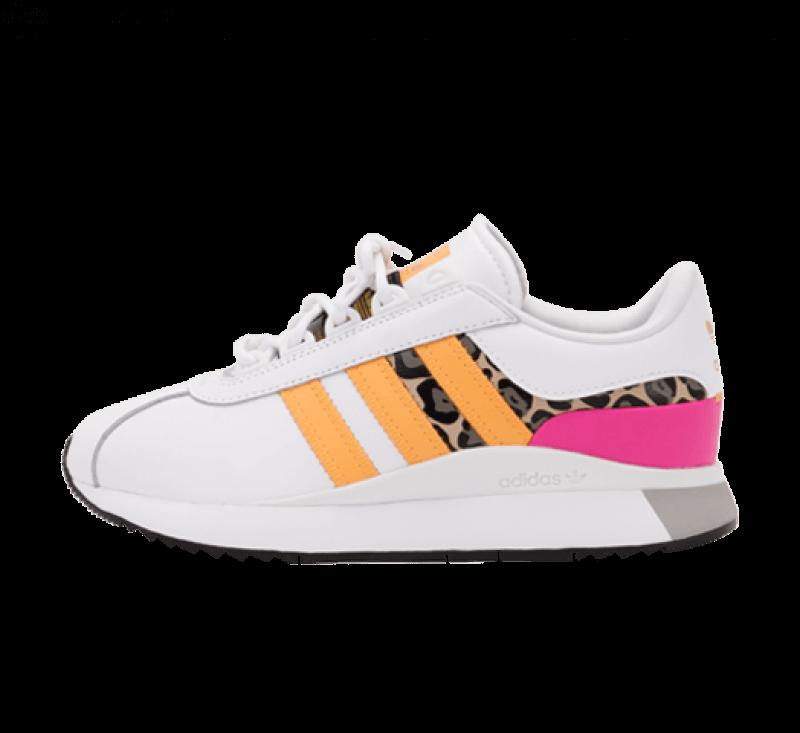 Adidas Women's SL Andridge Footwear White/Hazy Orange-Screaming Pink