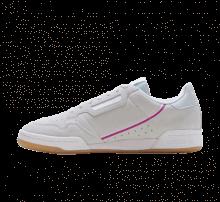 Adidas Women's Continental 80 Grey/Vivid Pink