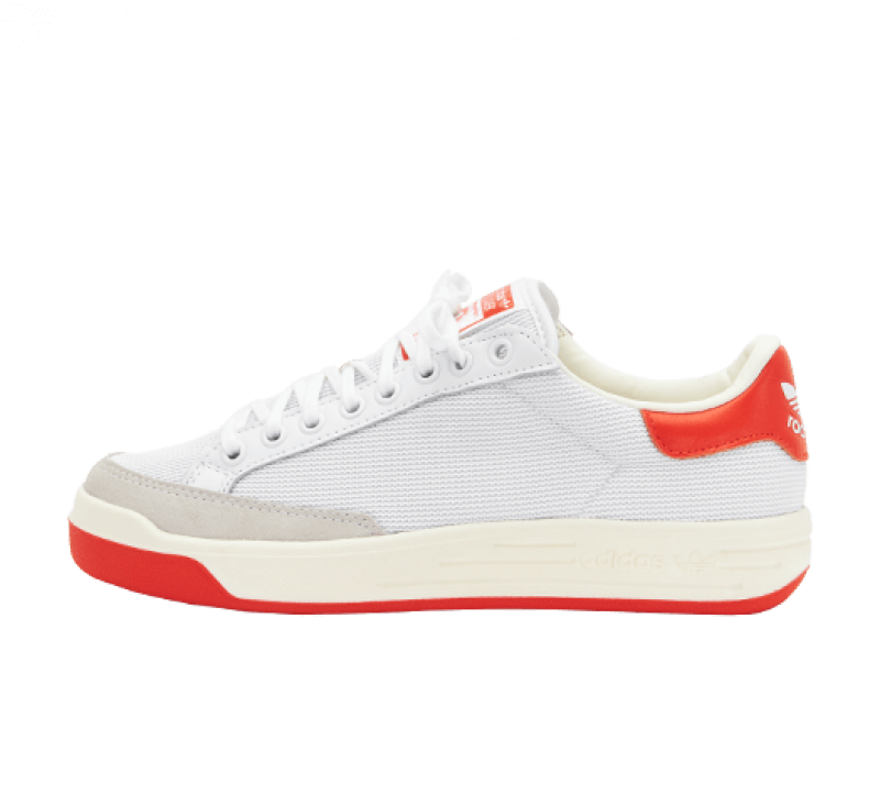 Adidas Rod Laver Footwear White/Collegiate Orange-Off White