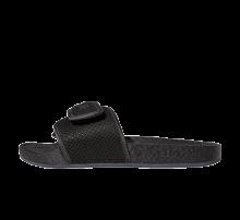 Adidas x Pharrell Williams Hu Chancletas Slides Triple Black