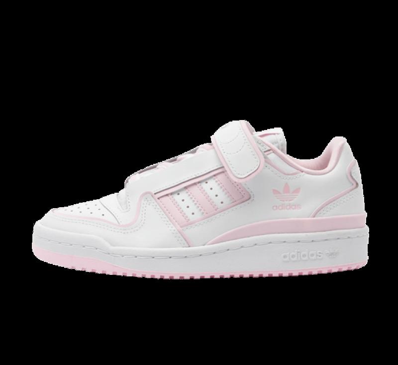 Adidas Women's Forum Plus Cloud White / Clear Pink