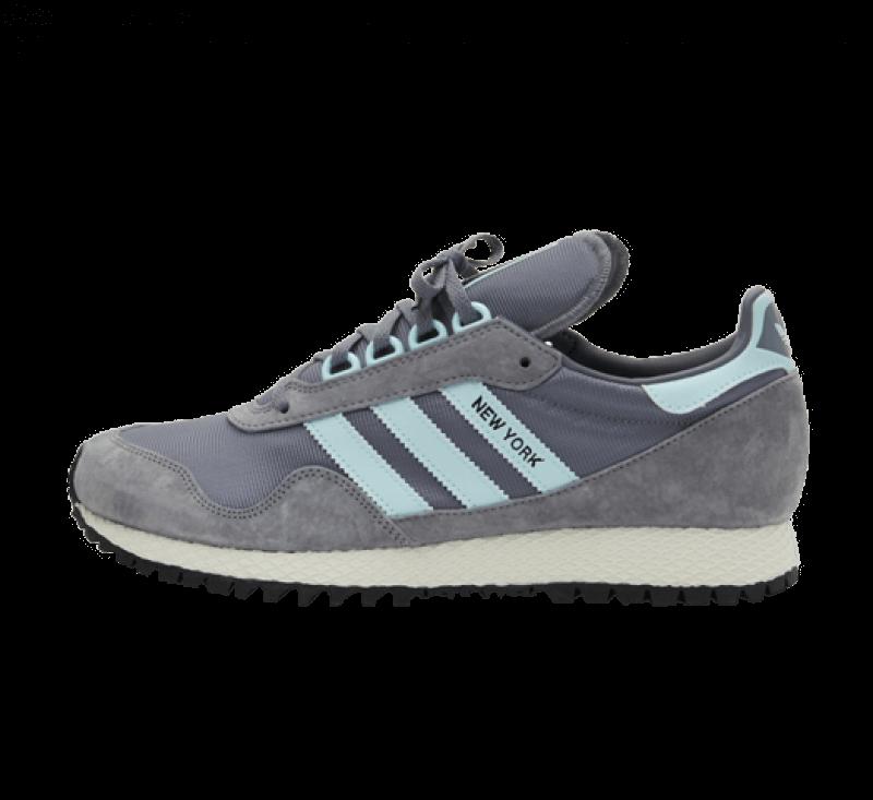 Adidas New York Grey/Halo Blue-Core Black