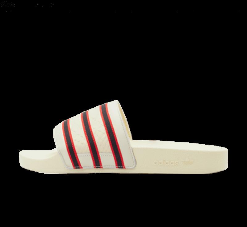 Adidas x ESPN Adilette 1979 Cloud White / Core Black / Vivid Red