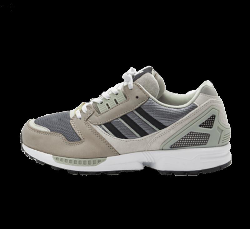 Adidas ZX 8000 Feather Grey / Core Black / Aluminium