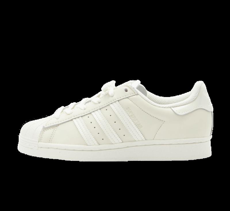 Adidas Superstar Off White / Core Black