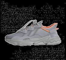Adidas Ozweego Halo Silver/Grey Two-Screaming Orange